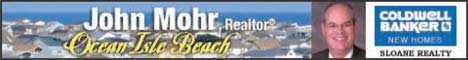 You deserve Mohr! OIB Conds, homes, and more. John Mohr, Broker, Realtor(R)