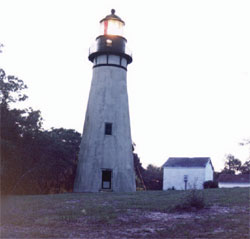 The Amelia Island Lighthouse, Ameila Island, FL