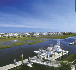 Sport Fishing Yachts at Ocean Isle Beach, North Carolina