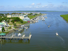 an Edisto Island waterway, Edisto Island, South Carolina