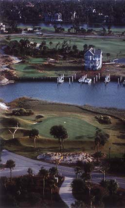 Wild Dunes in Isle of Palms is golf heaven with the waterfront so close nearby